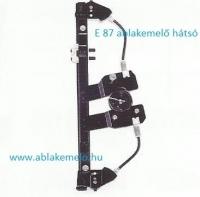 BMW E87 ablakemelő szerkezet jobb hátsó