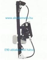 BMW E90 E91 ablakemelő szerkezet bal hátsó