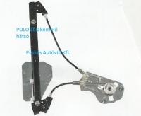 POLO V ablakemelő szerkezet hátsó