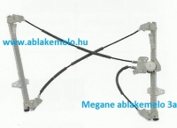 MEGANE 2 ablakemelő bal