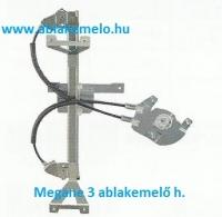 MEGANE 3 ablakemelő bal hátsó