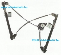 POLO IV ablakemelő