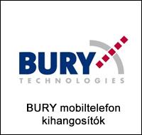 Bury mobiltelefon kihangosító