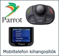 Parrot mobiltelefon kihangosító